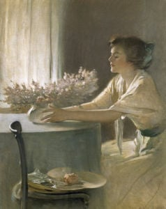 A Meadow Flower, 1912 by John White Alexander