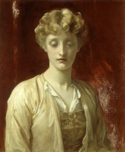Miss Dene by Lord Frederic Leighton