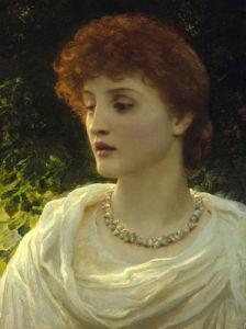Sylvia by Thomas Francis Dicksee