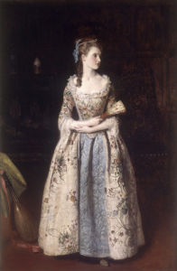 Rosa Bradwardine by James Archer