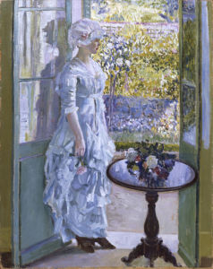 A Sunny Morning, c.1911 by Frederick Carl Frieseke