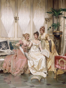 The Three Connoisseurs by Joseph Frederic Charles Soulacroix