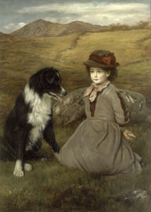 Which Hand Will You Take? 1877 by James Archer
