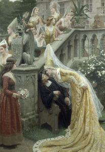 Alain Chartier, 1903 by Edmund Blair Leighton