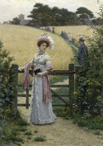Sunday Morning, 1901 by Edmund Blair Leighton