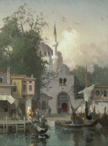 Constantinople, 1874 by Germain Fabius Brest