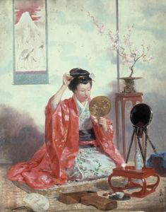 A Moment of Beauty, 1873 by Adrien Emmanuel Marie