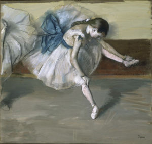 Danseuse au Repos, c.1879 by Edgar Degas