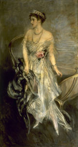 A Portrait of Princess Anastasia of Greece by Giovanni Boldini