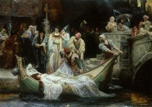 The Lady of Shalott by George Edward Robertson