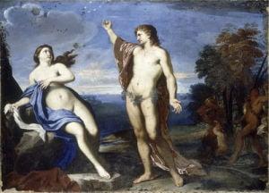 Bacchus and Ariadne by Carlo Maratta