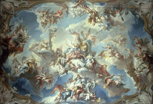 Glorification of Margrave Wilhelm Friedrich von Ansbach by Carlo Innocenzo Carlone