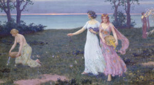 The Dawn of Spring, 1902 by Charles Courtney Curran