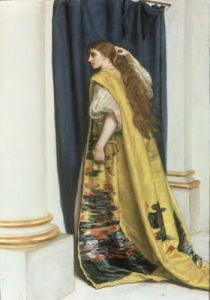 Esther by Sir John Everett Millais