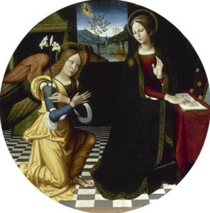 The Annunciation by Antonio Rimpatta