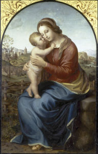 Madonna and Child by Franz Von Rohden