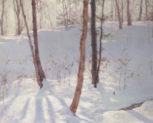 Winter Landscape by Walter Launt Palmer