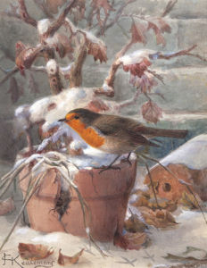 Frozen Out by Johannes Gerardus Keulemans