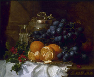 A Christmas Still Life by Eloise Harriet Stannard