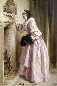 Madame se Chauffe, 1871 by John Callcott Horsley
