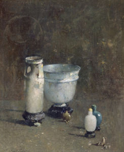Jade and Ancient Glass by Emil Carlsen