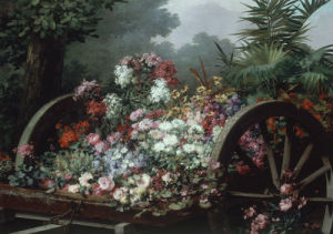 A Cart of Wild Flowers by Desire de Keghel