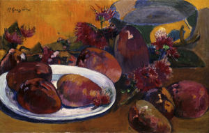 Nature Morte aux Mangos by Paul Gauguin
