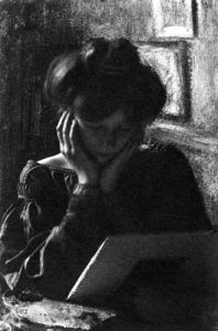 Woman Reading, c.1900-1910 by Robert Demachy