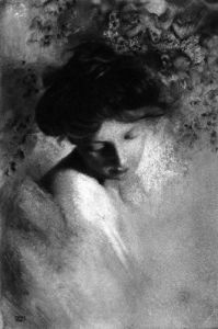 Study of the Head of a Woman, c.1900-1910 by Robert Demachy