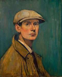 Self Portrait, 1925 by L S Lowry