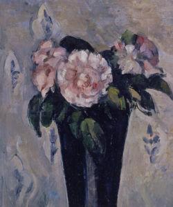 Le Vase Bleu Sombre, c.1880 by Paul Cezanne