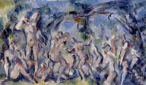 Esquisse de Baigneurs, c.1900-02 by Paul Cezanne