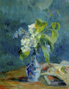 Vase de Fleurs by Paul Gauguin