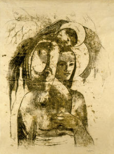 Je Vous Salue Marie (Ia Orana Maria), c.1899-1900 by Paul Gauguin