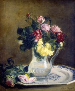 Bouquet de Roses de Juin, 1878 by Eva Gonzalès