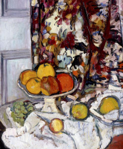 Still Life with Fruit by Leslie Hunter