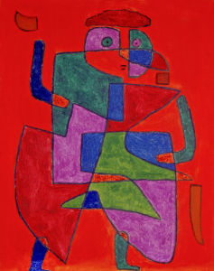 Arrival of the Bridegroom, 1933 by Paul Klee