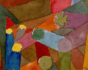 Komposition, 1914 by Paul Klee