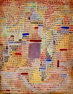 Mit Dem Eingang, 1931 by Paul Klee