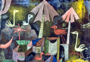 Vogelkomodie, 1919 by Paul Klee