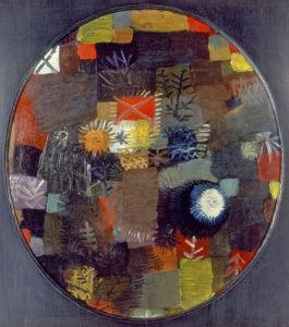 Kleines Weihnachtsstilleben, 1914 by Paul Klee