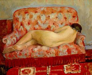 Nu au Canape by Henri Lebasque