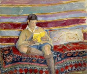 Jeune Garcon Lisant by Henri Lebasque