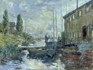 Le Bassin d'Argenteuil, 1875 by Claude Monet