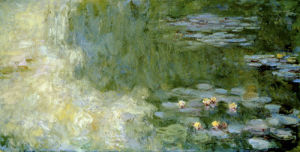 Le Bassin aux Nympheas, c.1917-20 by Claude Monet