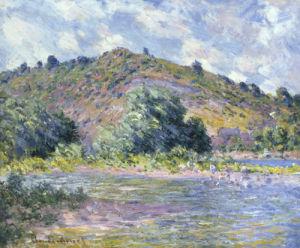 Bord de la Seine a Port-Villez, 1885 by Claude Monet