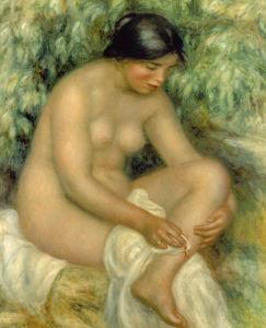 La Baigneuse, 1909 by Pierre Auguste Renoir