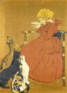 Lait Pur Sterilise de la Vingeanne by Theophile-Alexandre Steinlen