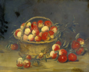 A Basket of Apples by Antoine Vollon