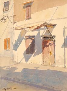 Cretan Shadows by Lucy Willis